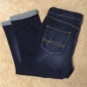 👖2/$20 ! Denizens by Levi cropped jeans